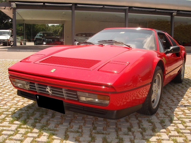 Ferrari 208 GTS  Turbo intercooler