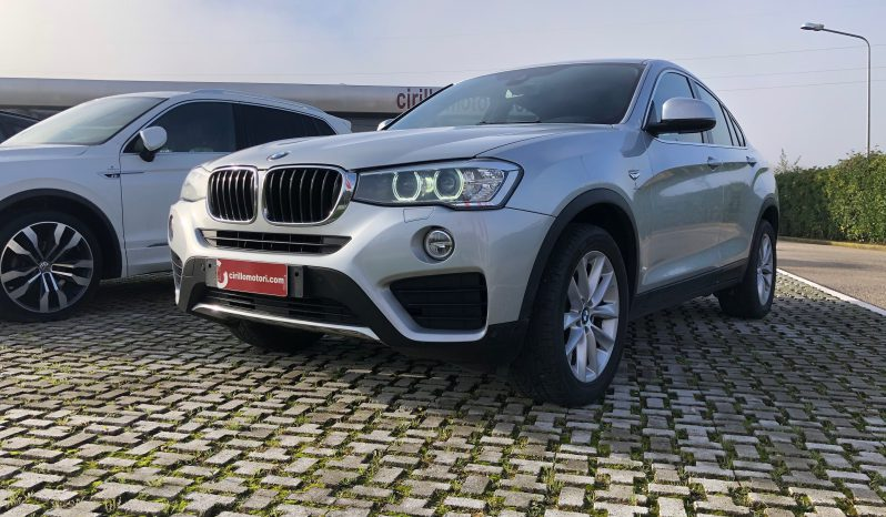 BMW X4 20D XDrive XLine completo